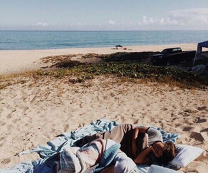 aesthetic, beach, and indie image