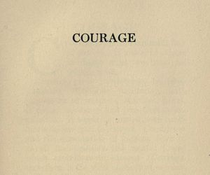 courage, down, and feelings image