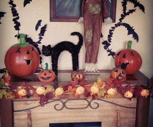 autumn, october, and Halloween image