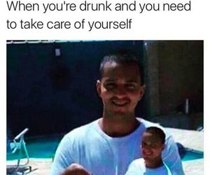 crazy, drunk, and funny image