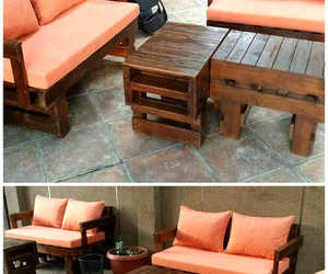 pallet furniture, pallet furniture plans, and pallet furniture ideas image