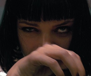 pulp fiction, uma thurman, and drugs image