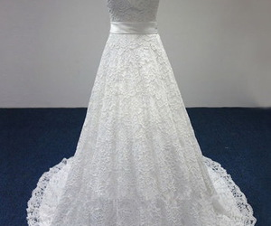 sleeveless, wedding gowns, and with train image
