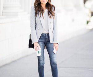 blazer, girl, and chic image