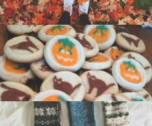 Cookies, Halloween, and fall image