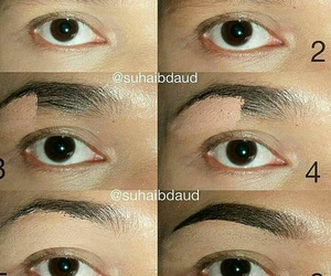 Easy, eyebrows, and make up image