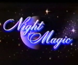 night, magic, and stars image