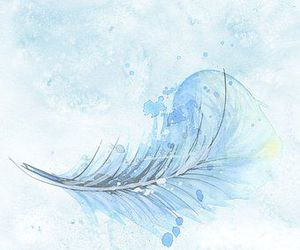 background, feather, and scrapbook image