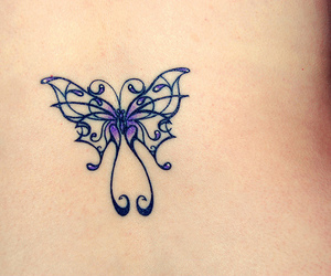 butterfly, feminine, and pretty image