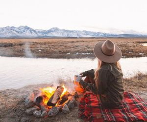 camping, travel, and adventure image