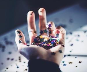 stars and hand image