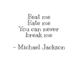 michael jackson, quote, and they don't care about us image