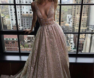 beautiful, dress, and haïr image