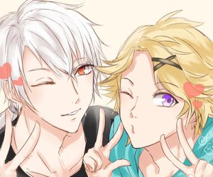 zen, yoosung, and mystic messenger image