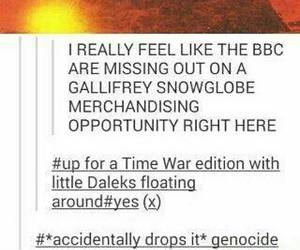 doctor who, tumblr, and funny image