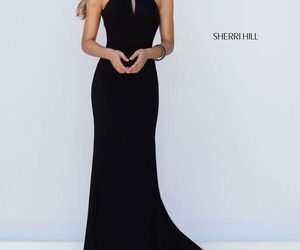black, blonde, and Prom image