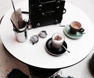 bag, black, and drinks image