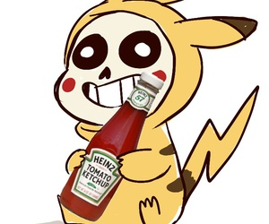 sans, undertale, and ketchup image