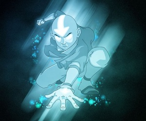 aang, avatar the last airbender, and team avatar image