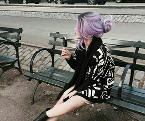 aesthetic, girl, and indie image