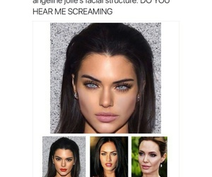 Angelina Jolie and kendall jenner image