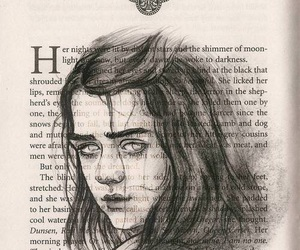 game of thrones, arya stark, and got image