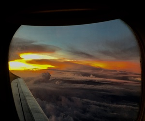 Awe, clouds, and colors image