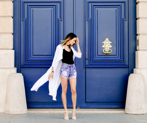 chanel, blue, and fashion image