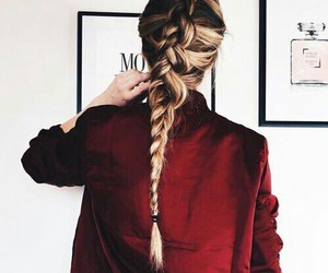 braids, hair, and lovely image