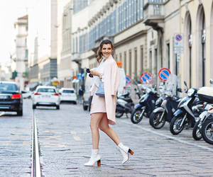 milan fashion week, street style, and chic look image