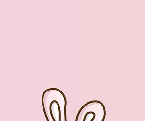background, bunny, and pink image