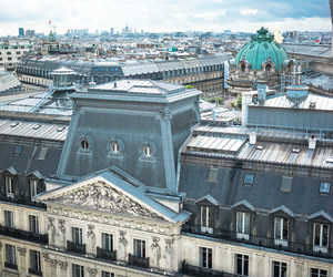 architecture, paris, and blue image
