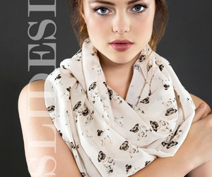 etsy, fashion scarf, and infinity scarf image