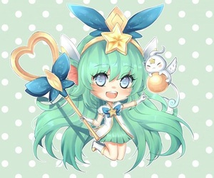 green, lulu, and pastel image