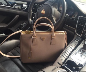bag, luxury, and car image
