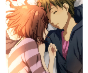 kyoukai no kanata, anime, and love image