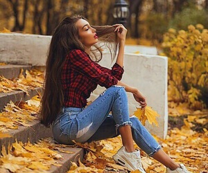 autumn, fall, and style image