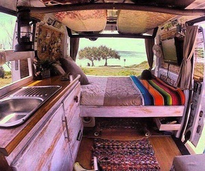 vans, travel, and adventure image