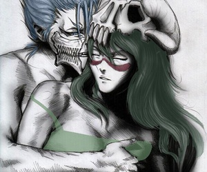 bleach, grimmjow, and Hot image