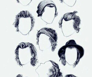 Harry Styles, hair, and style image