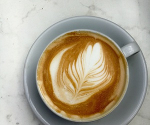 coffe, marble, and caffine image