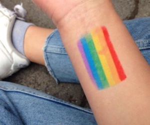rainbow, aesthetic, and lgbtq image