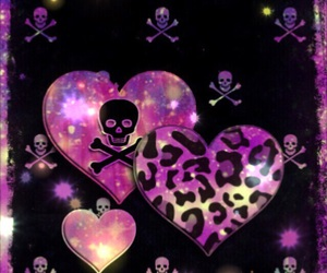 background, glitter, and gothic image
