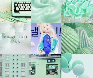 kpop, moodboard, and mint image