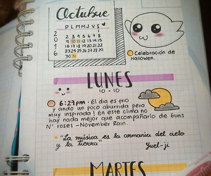 agenda, diary, and mes image