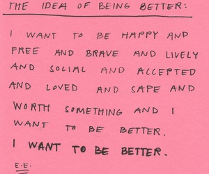 quotes, better, and happy image