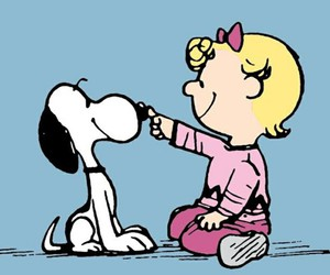 snoopy, dog, and peanuts image