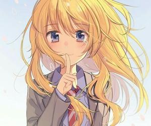 anime, anime girl, and kaori miyazono image