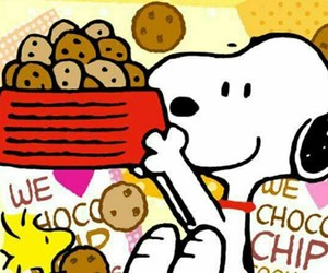 Cookies, peanuts, and snoopy image