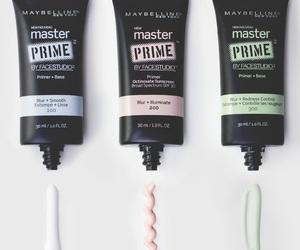 makeup, Maybelline, and primer image